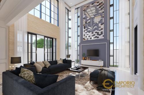 Desain Interior Desain Rumah Hook Classic 2 Lantai Ibu Miranda