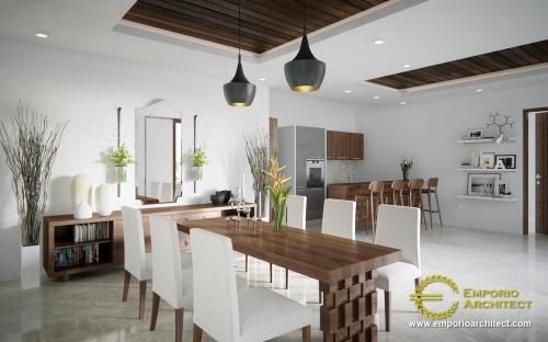 Desain Interior Desain Rumah Villa Bali 2 Lantai Ibu Yusoa
