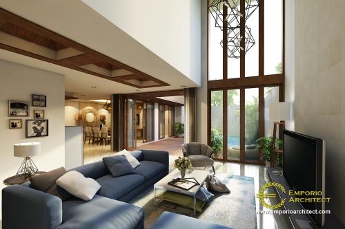 Interior Design Mrs. Ridha Modern House 2 Floors Design - Jakarta