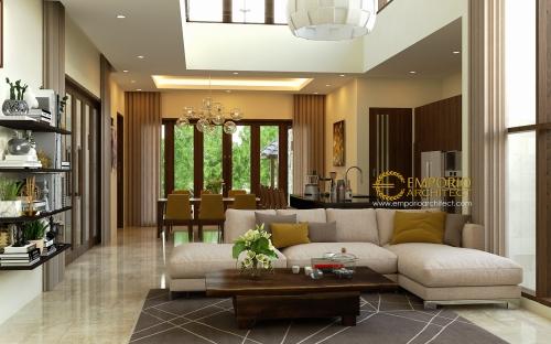 Desain Interior Desain Rumah Villa Bali 2 Lantai Ibu Rina