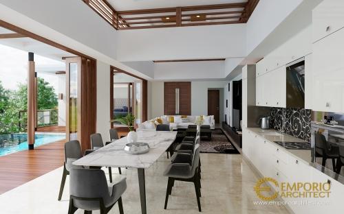 Desain Interior Desain Rumah Villa Bali 2 Lantai Ibu Winona