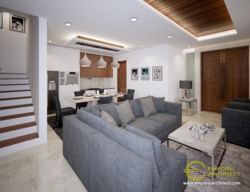 Interior Design Mrs. Yani Villa Bali House 3 Floors Design - Jakarta