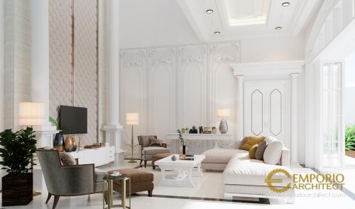 Desain Interior Desain Rumah Classic 2 Lantai Ibu Yanti