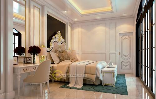 Desain Interior Desain Rumah Mediteran 2 Lantai Kavling 8 Bapak Pramudya