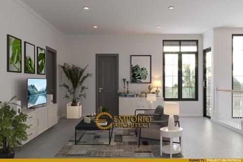 Interior Design Mrs. Patricia Mediteran House 2 Floors Design - Bogor, Jawa Barat