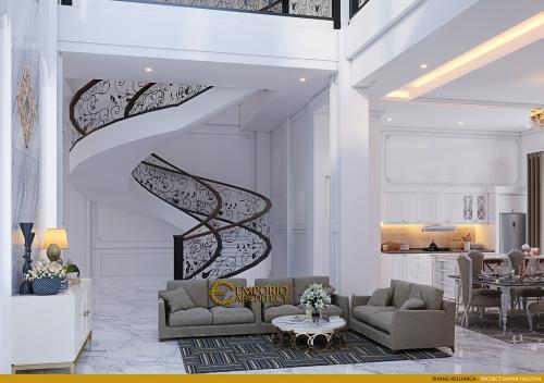 Interior Design Mr. Faozian Classic House 2 Floors Design - Bandung, Jawa Barat