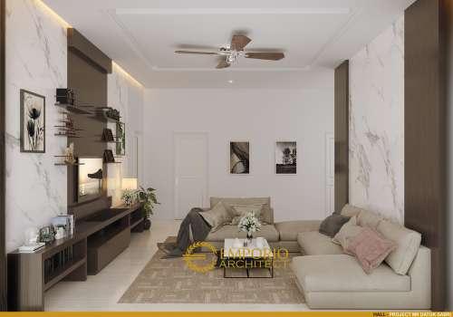 Desain Interior Desain Rumah Mediteran 2 Lantai Bapak Datuk Sabri