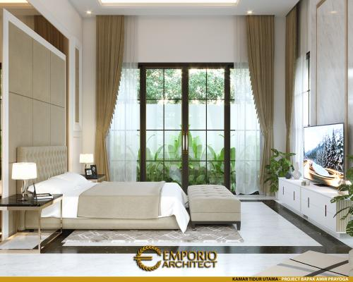 Interior Design Mr. Amir Prayoga Mediteran House 2.5 Floors Design - Malang, Jawa Timur