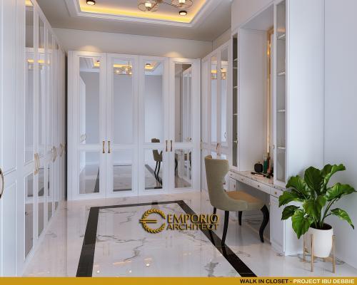 Desain Interior Desain Rumah Mediteran 3 Lantai Ibu Debbie