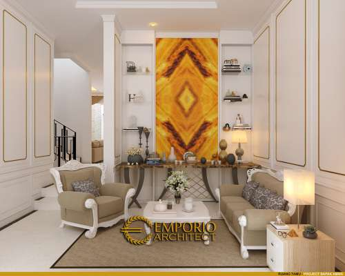 Interior Design Mr. Aman Mediteran House 3 Floors Design - Jakarta Barat