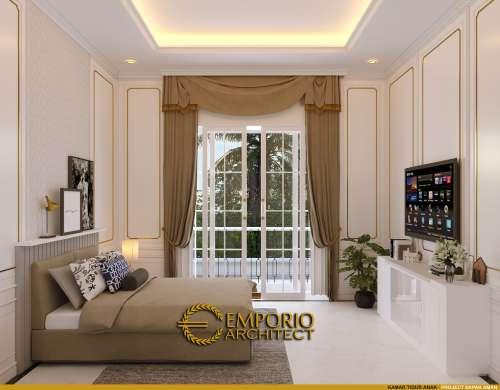 Desain Interior Desain Rumah Mediteran 3 Lantai Bapak Aman