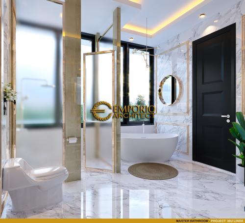 Desain Interior Desain Rumah Santorini 2.5 Lantai Ibu Linda