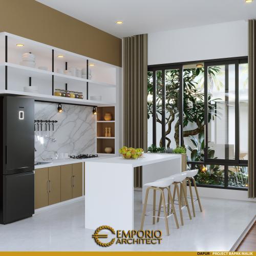 Desain Interior Desain Rumah Modern 1 Lantai Bapak Malik