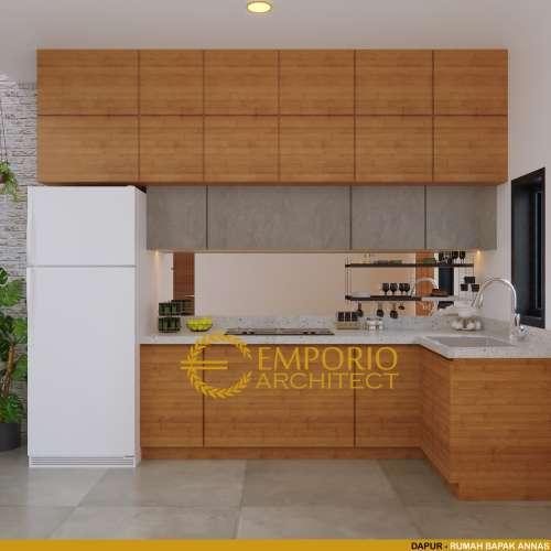 Desain Interior Desain Rumah Modern 1 Lantai Bapak Annas