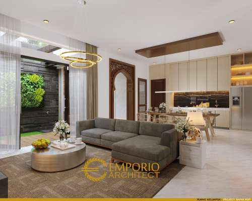 Interior Design Mr. Rofi Modern House 1 Floor Design - Medan, Sumatera Utara