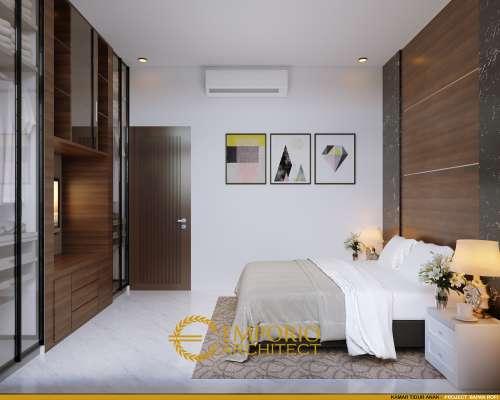 Desain Interior Desain Rumah Modern 1 Lantai Bapak Rofi