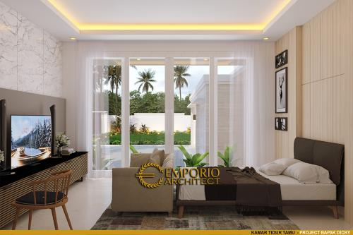 Interior Design Mr. Dicky Modern House 2 Floors Design - Palu, Sulawesi Tengah