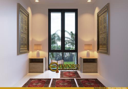 Desain Interior Desain Rumah Modern 2 Lantai Bapak Iqbal