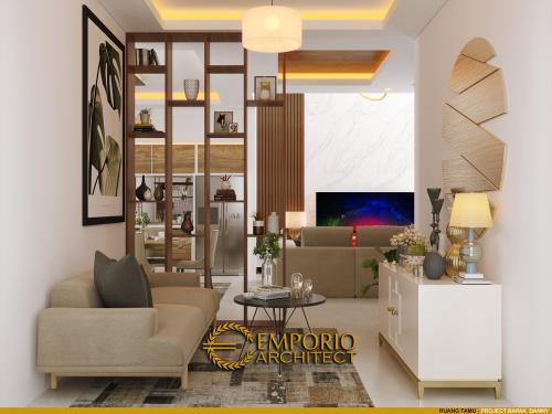 Desain Interior Desain Rumah Modern 2 Lantai Bapak Danny