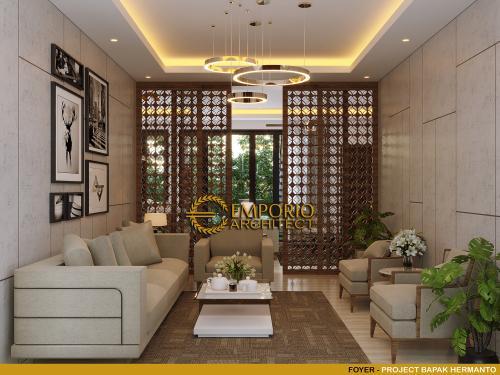 Desain Interior Desain Rumah Modern 2 Lantai Bapak Hermanto