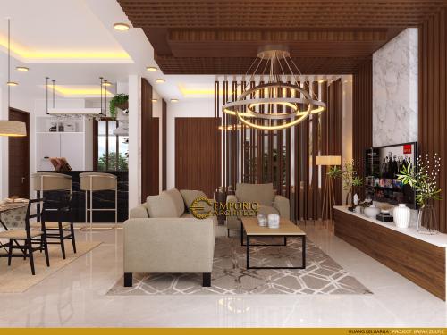 Desain Interior Desain Rumah Modern 2 Lantai Bapak Zulfic