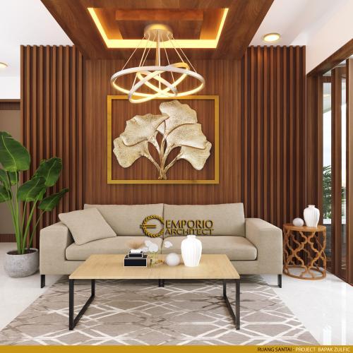 Interior Design Mr. Zulfic Modern House 2 Floors Design - Palangka Raya, Kalimantan Tengah