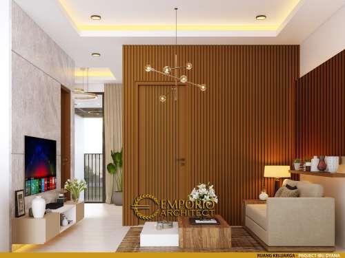 Interior Design Mrs. Dyana Modern House 2 Floors Design - Jakarta Utara