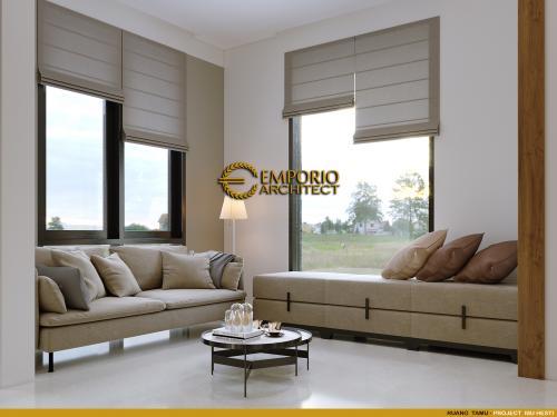 Desain Interior Desain Rumah Modern 2 Lantai Ibu Hesti