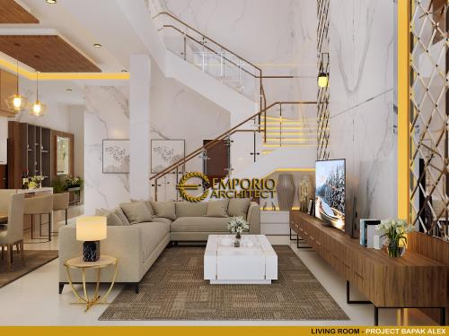 Interior Design Mr. Alex Modern House 2 Floors Design - Jakarta Barat
