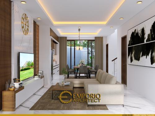 Desain Interior Desain Rumah Modern 2 Lantai Bapak Tunjung