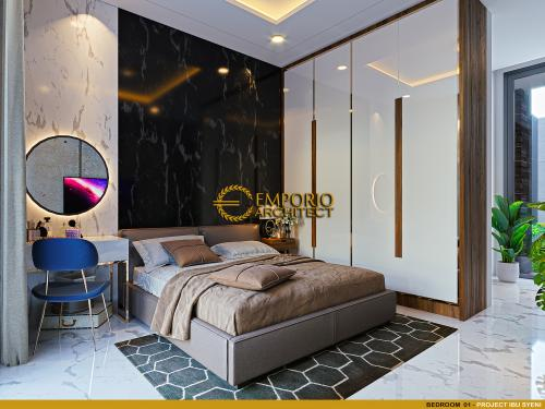 Desain Interior Desain Rumah Modern 2 Lantai Ibu Syeni