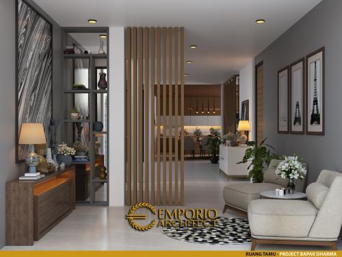 Interior Design Mr. Dharma Modern House 2 Floors Design - Bekasi, Jawa Barat