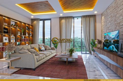 Desain Interior Desain Rumah Modern 2 Lantai Bapak Akhmad Fahmi