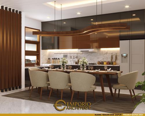 Interior Design Mr. Dedi Modern House 2 Floors Design - Palembang