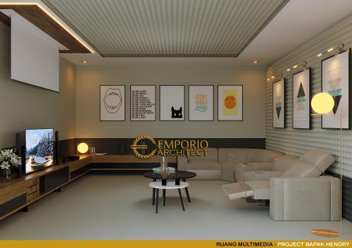 Desain Interior Desain Rumah Modern 2 Lantai Bapak Hendry