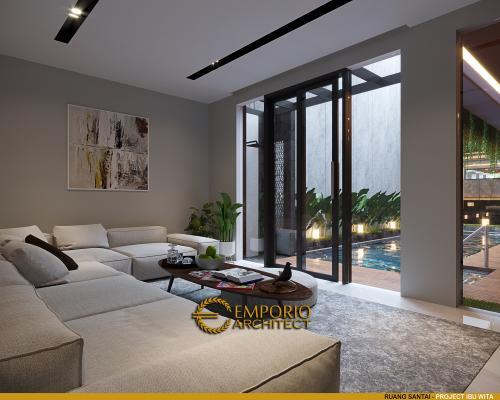 Interior Design Mrs. Wita Modern House 2 Floors Design - Jakarta Barat