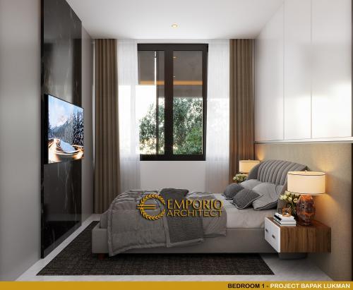 Interior Design Mr. Lukman Modern House 2 Floors Design - Tangerang, Banten