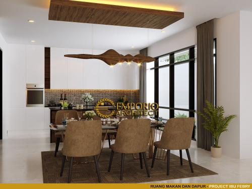 Interior Design Mrs. Febry Modern House 2 Floors Design - Jayapura, Papua