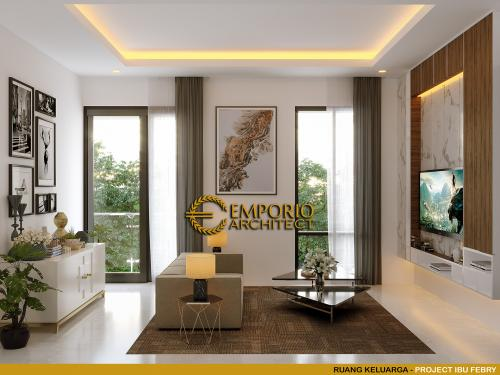 Interior Design Mrs. Febry Modern House 2 Floors Design - Jayapura, Papua