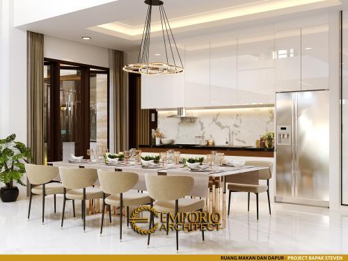 Interior Design Mr. Steven Modern House 2 Floors Design - Surabaya