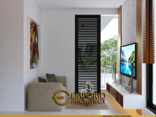 Desain Interior Desain Rumah Modern 2 Lantai Bapak Andrianto