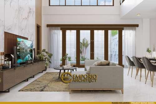 Desain Interior Desain Rumah Modern 2 Lantai Bapak Daniel