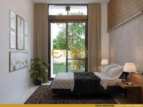 Desain Interior Desain Rumah Modern 2 Lantai Bapak Herman
