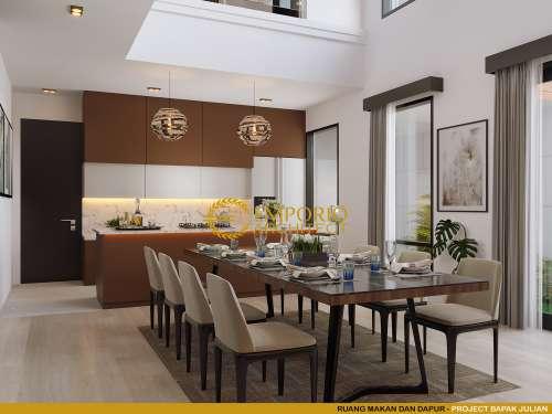 Desain Interior Desain Rumah Modern 2 Lantai Bapak Julian