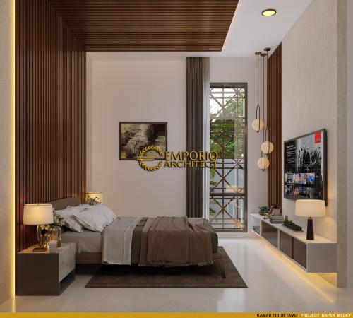 Desain Interior Desain Rumah Modern 2 Lantai Bapak Melky Tjiang
