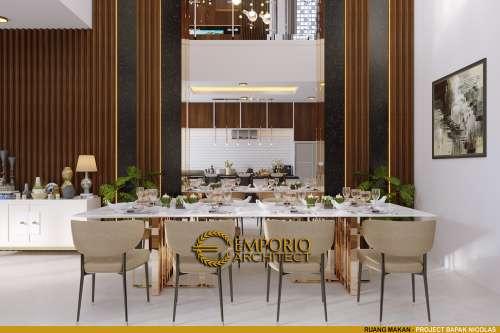 Desain Interior Desain Rumah Modern 2 Lantai Bapak Nicolas