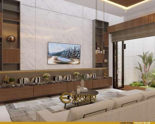 Desain Interior Desain Rumah Modern 2 Lantai Bapak RM