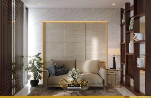Desain Interior Desain Rumah Modern 2 Lantai Bapak T
