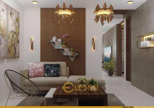 Desain Interior Desain Rumah Modern 2 Lantai Bapak Usman