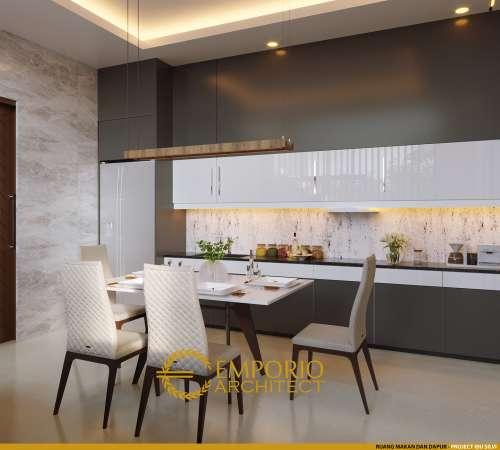Desain Interior Desain Rumah Modern 2 Lantai Ibu Silvi